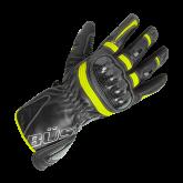 Rękawice motocyklowe damskie BUSE Misano czarno-neonowe