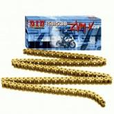 Łańcuch napędowy DID 50ZVMX G&G ilość ogniw 116 (X-ringowy, wzmocniony, złoty)