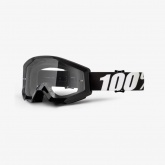Gogle 100% Strata Outlaw Czarne Clear Lens