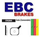 Klocki rowerowe EBC (organiczne wyczynowe) Coda Cannondale Expert Profile CFA284AR