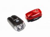 Lampki rowerowe komplet p+t ROMET R-302