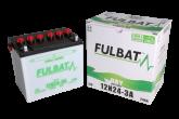 Akumulator FULBAT 12N24-3A (suchy, obsługowy, kwas w zestawie)