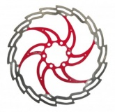 Tarcza hamulcowa XLC BR-X02 czerwona 180mm