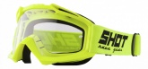 Gogle SHOT Assault Solid Neon Yellow