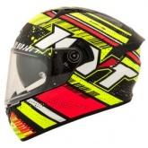 Kask motocyklowy KYT NF-R ENERGY czerwony/żółty