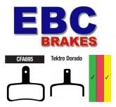 Klocki rowerowe EBC (spiekane) Tektro Dorado (HD-E710) CFA695HH