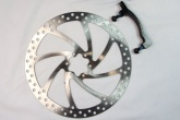 OVERSIZE MTB DISC WITH BRACKET (MANITOU FORKS/160MM TO 204MM)