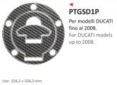 PRINT naklejka na wlew paliwa Ducati up 2008