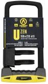 AUVRAY zapięcie U-LOCK U-ZEN (gumowa osłona pałąka) z uchwytem - 108 x 235mm