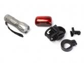 Zestaw lampek rowerowych ROMET JY-829+JY-390T