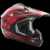 Kask motocyklowy dziecięcy ROCC 710 Jr. czerwony