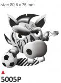 Naklejka PRINT Football Cov (2 szt.)