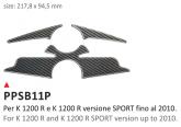 Naklejka na półkę kierownicy PRINT Bmw K 1200 R / K 1200 R Sport -2010