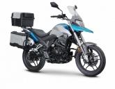 Motocykl Romet ADV 125Fi Pro EURO 4 niebieski 2017