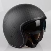 Kask motocyklowy LAZER MAMBO EVO Pure Carbon czarny/carbon matowy