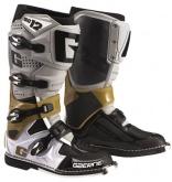 Buty motocyklowe GAERNE SG-12 szare/platynowe/białe rozm. 41