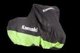 Pokrowiec Wewnętrzny Kawasaki L Czarno-Zielony