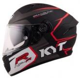 Kask motocyklowy KYT NF-R TRACK szary
