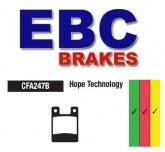 Klocki hamulcowe rowerowe EBC CFA247BR HOPE PRO 2