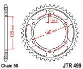 Zębatka napędowa tylna JTR499.52 - 52 zębów