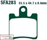 Klocki hamulcowe EBC SFA283/4HH skuterowe (kpl. na 1 tarcze)