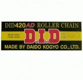 Łańcuch napędowy DID 420AD-122