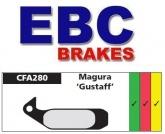 Klocki hamulcowe rowerowe EBC CFA280 MAGURA GUSTAV