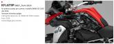 PRINT zestaw naklejek motocyklowych do BMW GS 1200 from 2014 mimetic szara
