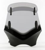 Uniwersalna szyba do motocykli bez owiewek MRA, forma VFVTC, bezbarwna