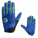 Rękawiczki rowerowe CHIBA Twister niebieskie