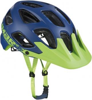 Kask rowerowy Limar MTB 808DR niebieski-zielony rozm. L