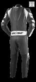 Kombinezon motocyklowy BUSE Silverstone Pro czarno-biały