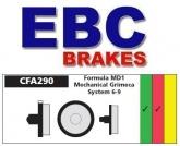 Klocki rowerowe EBC (organiczne wyczynowe) Formula MD1 & Grimeca System 6-9 CFA290R