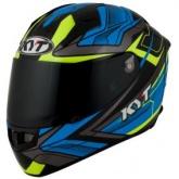 Kask motocyklowy KYT ThunderFlash BOLT niebieski