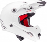 Kask motocyklowy LAZER MX8 X-Line Pure Glass biały