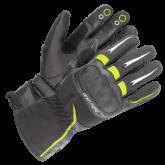 Rękawice motocyklowe BUSE Open Road Touring czarno-neonowe