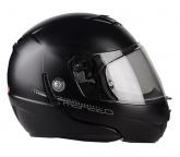 Kask motocyklowy LAZER MONACO EVO Pure Glass czarny matowy