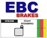 Klocki rowerowe EBC (spiekane) Giant MPH 2001/2005 / MPH2 & MPH3 CFA338HH