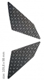 PRINT para stompgripów czarnych carbonowych