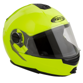 Kask motocyklowy ROCC 680 żółty neonowy