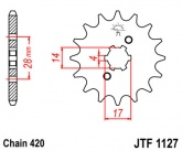 Zębatka napędowa przednia JTF1127.15 - 15 zębów