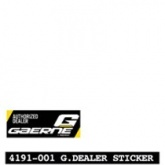 GAERNE G.DEALER STCKER