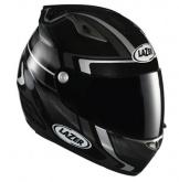 Kask motocyklowy LAZER OSPREY Genius czarny/szary
