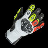 Rękawice motocyklowe BUSE Airway czarno-neonowe 12