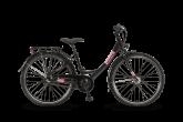 Rower Winora Chica 26 3 biegi Nexus czarno/różowy