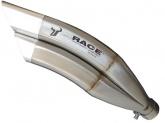 Tłumik IXRACE KAWASAKI Z 800 13-16 (ZR800A,B) SLIP ON typ Z7 SERIES INOX (homologacja)