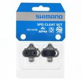 Bloki do pedałów SPD Shimano SM-SH56 srebrne