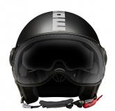 Kask Motocyklowy MOMO FGTR EVO (JOKER Black / Dark Grey/ Silver) rozm. XS