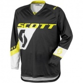 Bluza Scott 350 Dirt Kids black/yellow - juniorska