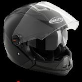 Kask motocyklowy ROCC 160 czarny matowy